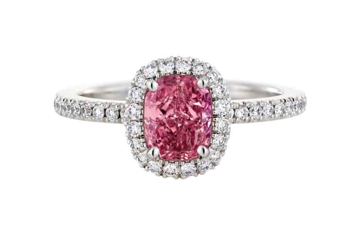 Engagement rings with color longmontco jewelers watch repair pink diamond ring junglespirit Choice Image