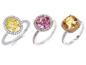 color engagment rings