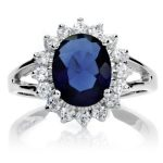 sapphire eng ring
