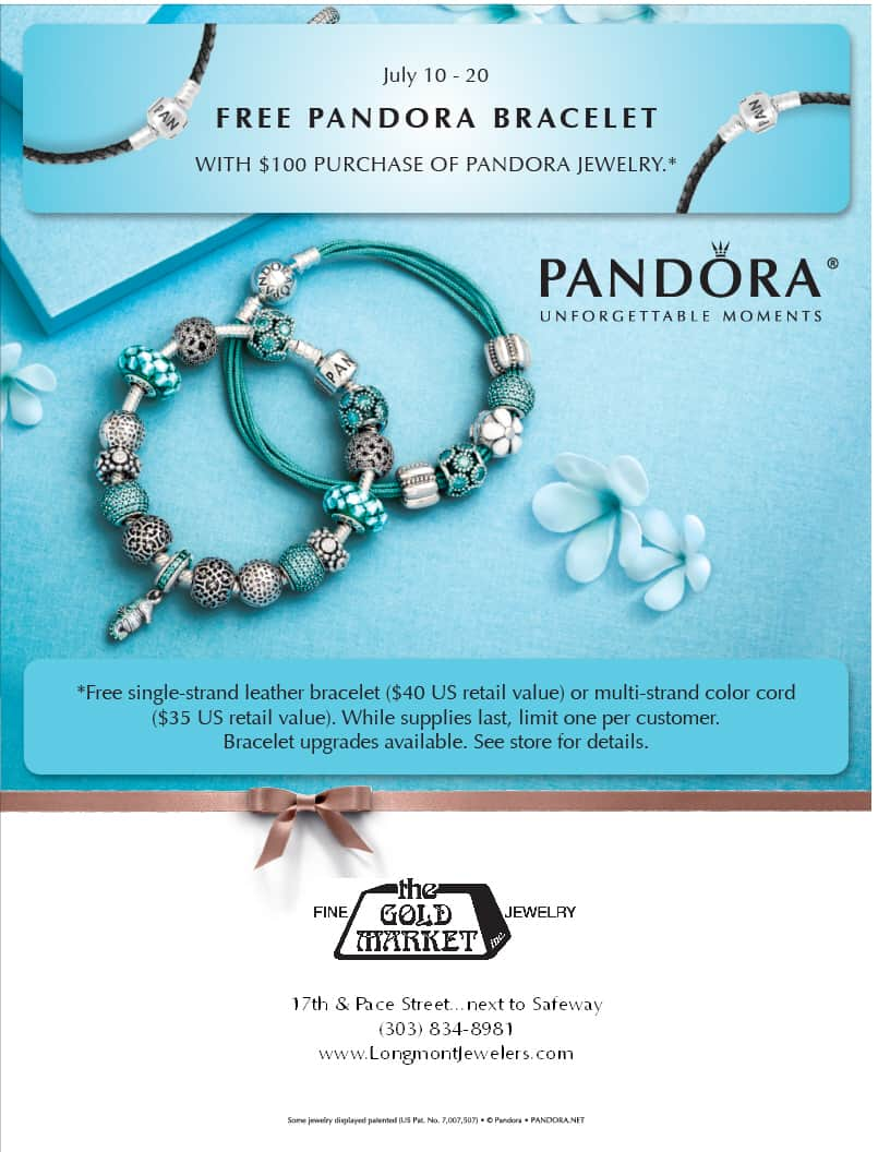 when is the next pandora free bracelet event free pandora bracelet event starts today longmont co 6570